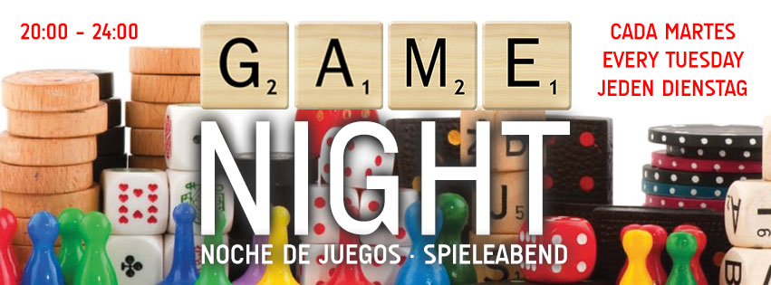 Game Night Tuesday Scubar Santa Ponsa