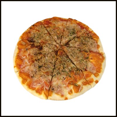 Pizza con atún 8.00€