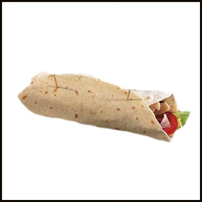 Burrito pollo y curry 6.50€